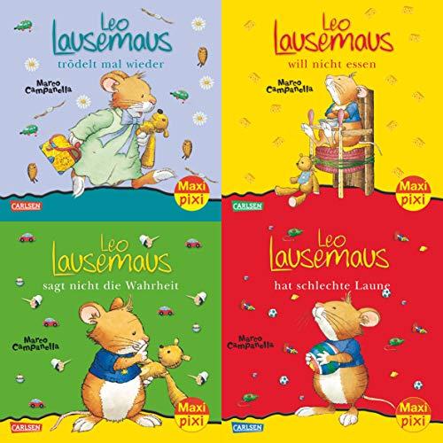 9783551030146: Maxi-Pixi-Serie Nr. 27: 4er Bundle: Neues von Leo Lausemaus