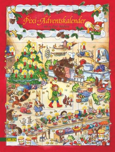 9783551040640: Pixi Adventskalender: Mit 24 Pixi Büchern, Hochformat Mit  Glitzer