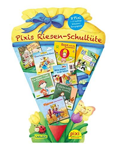 9783551041562 Pixis Riesen Schultüte 8 Pixi Bücher Und 5 Lustige