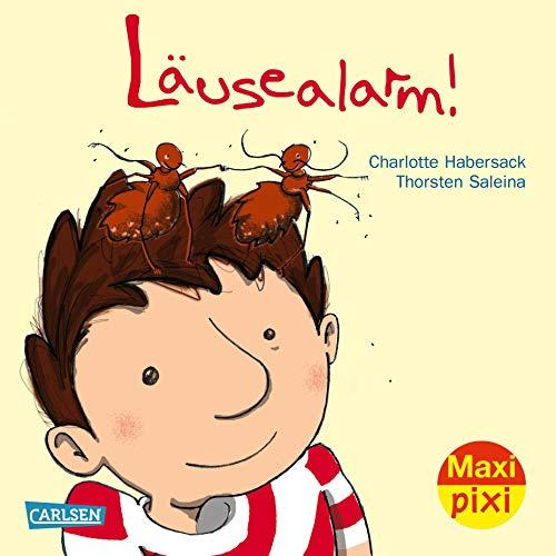 Maxi-Pixi Nr. 206: Läusealarm!: Charlotte Habersack, Thorsten Saleina (Illustrator)