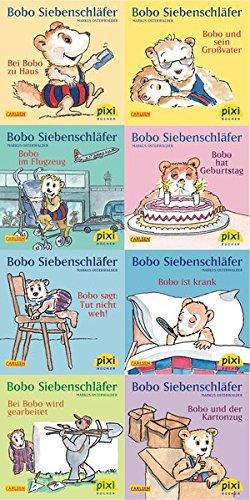 9783551044068: Pixi-Bundle 8er Serie 214: Bobo Siebenschläfer