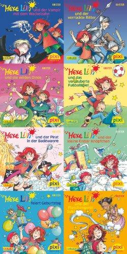 9783551044112: Pixi-Bundle 8er Serie 212: Hexe Lilli