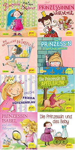 9783551044501: Pixi-Bundle 8er Serie 241: Pixis starke Prinzessinnen