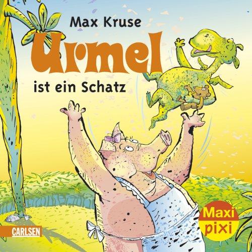9783551045102: Maxi-Pixi Urmel ist ein Schatz