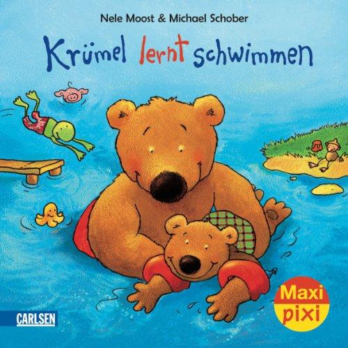 Maxi-Pixi Krümel lernt schwimmen: Nele Moost