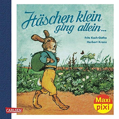 Maxi-Pixi 92: Häschen klein, ging allein .: Herbert Kranz