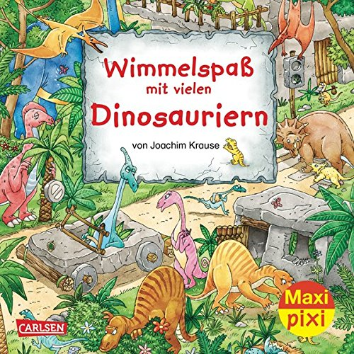 9783551045980: Maxi-Pixi 98: Wimmelspa� mit vielen Dinosaurier