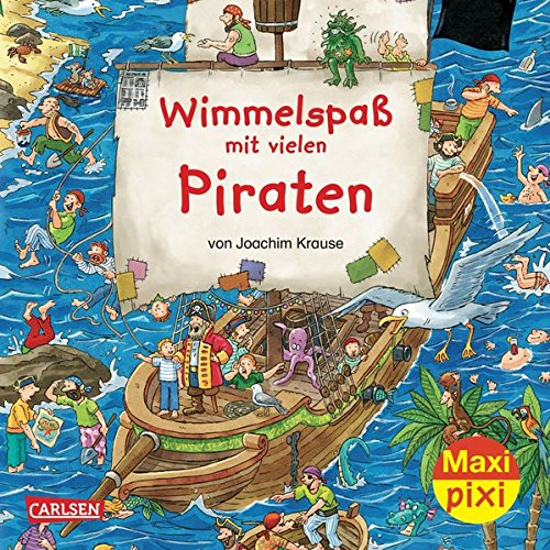 Maxi-Pixi 101: Wimmelspaß mit vielen Piraten: Joachim Krause
