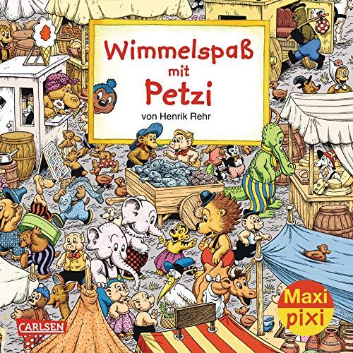 Maxi-Pixi Nr. 170: Wimmelspaß mit Petzi