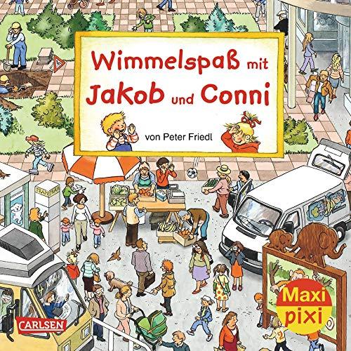 Wimmelspaß mit Jakob und Conni: Peter Friedl