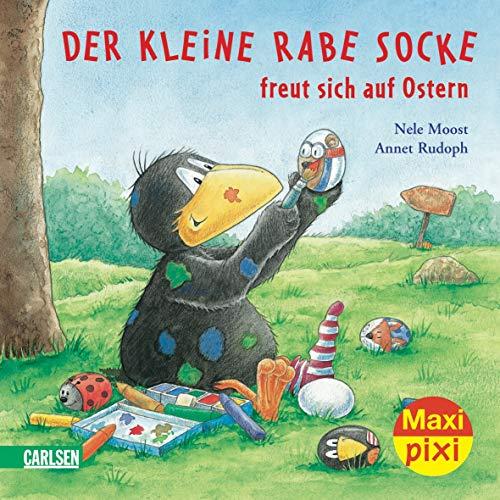 9783551047618: Maxi-Pixi Nr. 64: Der kleine Rabe Socke freut sich auf Ostern.