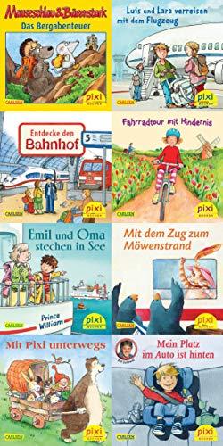 Pixi-Bücher Serie 210: Mit Pixi unterwegs. 64 Exemplare à 0,95 Euro