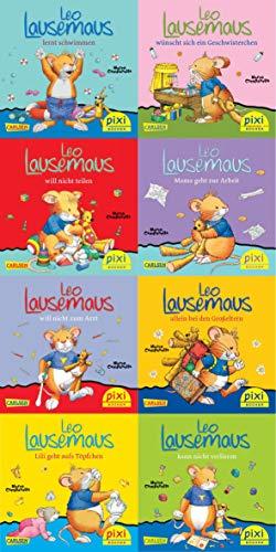 Pixi-Bucher. Serie Nr. 219: Leo Lausemaus. 64 Exemplare