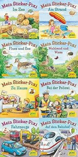 Pixi-Serie Nr. 234: Pixis neue Sticker-Bücher. 64 Exemplare