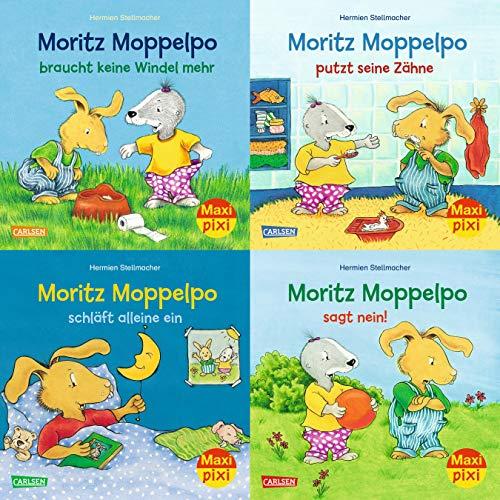 Maxi-Pixi-Serie 71. Moritz Moppelpo (4x5 Exemplare): Hermien Stellmacher