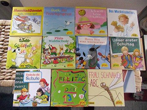 11 Pixi Bücher