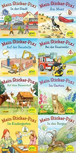 Pixi-Bücher. Serie 199: Meine Sticker-Pixis. 64 Exemplare à Euro 0,95