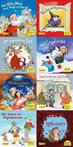 Pixi-Weihnachts-Box 33: Fröhliche Weihnacht überall (8x8 Exemplare)