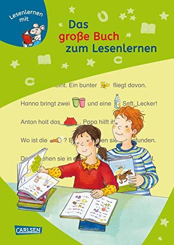 9783551066015: Das große Buch zum Lesenlernen: LESEMAUS zum Lesenlernen Stufe 1