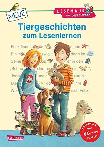 9783551066190: LESEMAUS zum Lesenlernen Sammelbände: Neue Tiergeschichten zum Lesenlernen: Bild-Wörter-Geschichten - mit Bildern lesen lernen