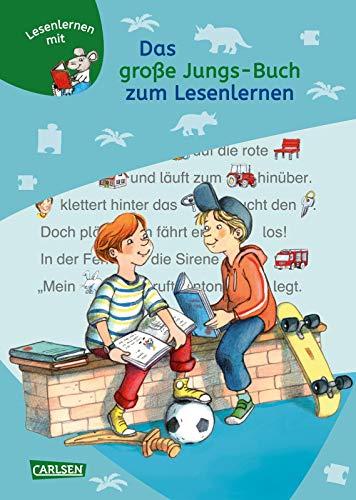 9783551066206: LESEMAUS zum Lesenlernen Sammelbände: Das große Jungs-Buch zum Lesenlernen