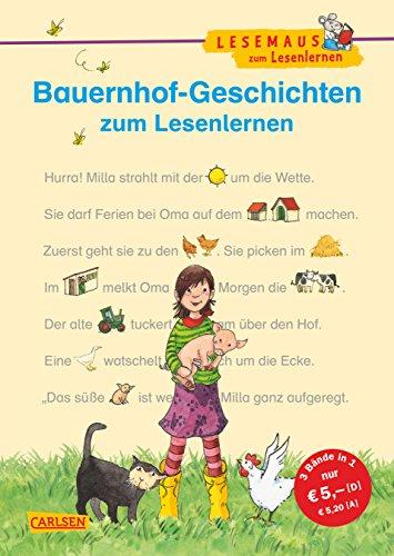 9783551066275: LESEMAUS zum Lesenlernen Sammelbände: Bauernhof-Geschichten zum Lesenlernen