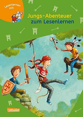9783551066282: LESEMAUS zum Lesenlernen Sammelbände: Jungs-Abenteuer zum Lesenlernen