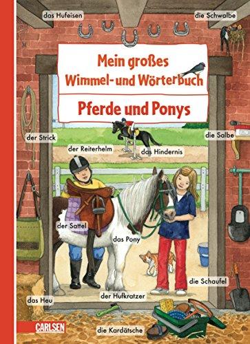 9783551072092: Mein großes Wimmel- und Wörterbuch 09: Pferde und Ponys