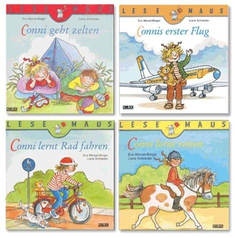 9783551087478: Ferien-Spaß mit Conni. 4 Lesemaus-Bände mit Conni. ( Ab 3 J.).