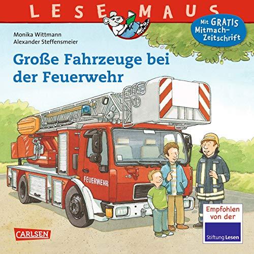 9783551088222: Große Fahrzeuge bei der Feuerwehr