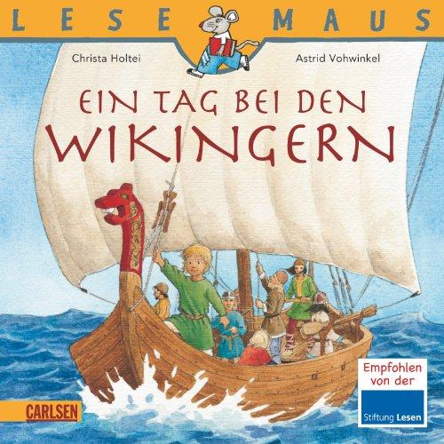 9783551088239: Ein Tag bei den Wikingern. Lesemaus