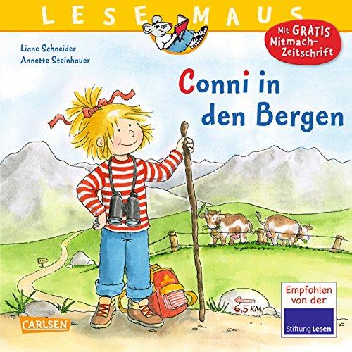 9783551089328: LESEMAUS, Band 132: Conni in den Bergen
