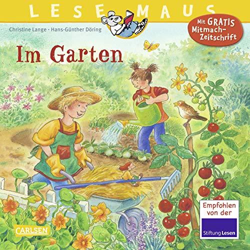 9783551089434: LESEMAUS 38: Im Garten