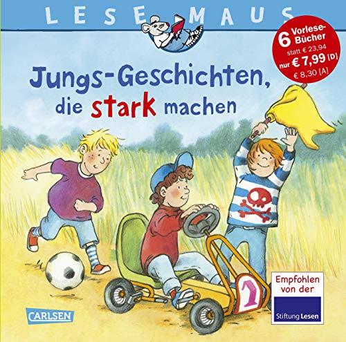 9783551089717: LESEMAUS Sonderb�nde: Jungs-Geschichten, die stark machen: Sechs Geschichten zum Anschauen und Vorlesen in einem Band