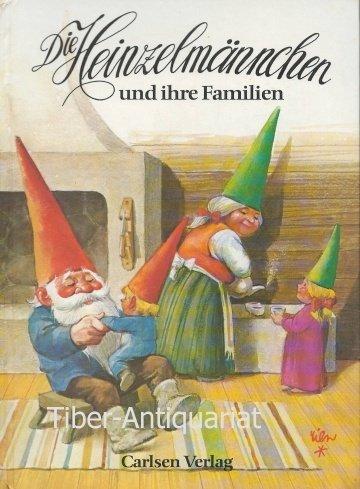 Die Heinzelmännchen und ihre Familien. Aufklapp- Bilderbuch: Rien Poortvliet (Autor),