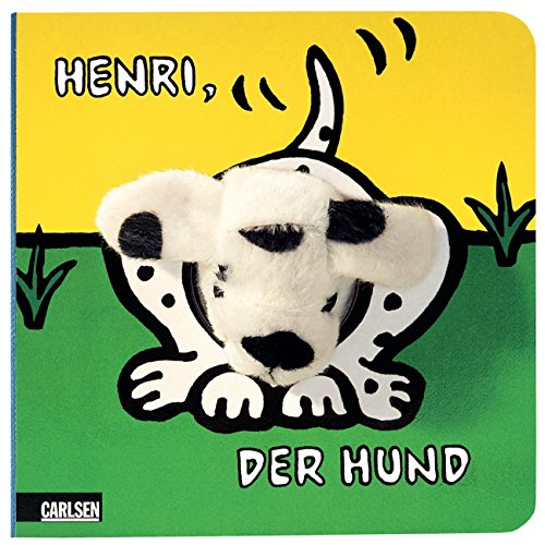 9783551160973: Henri, der Hund. Fingerpuppen-Buch