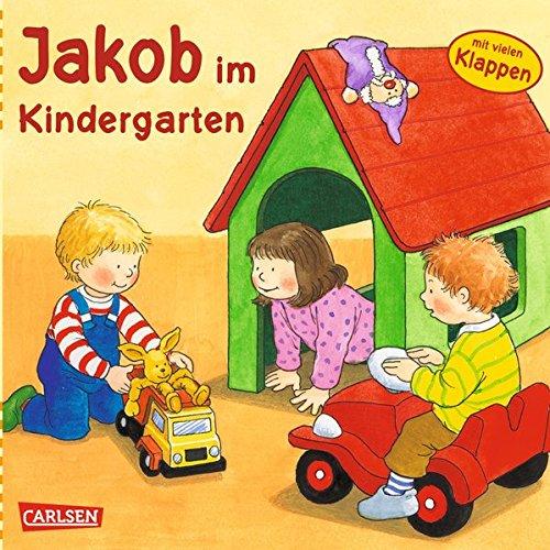 9783551164247: Jakob im Kindergarten: Mit lustigen Klappen