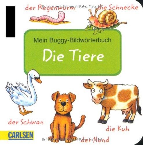 9783551164681: Buggy-Bildwörterbuch Tiere