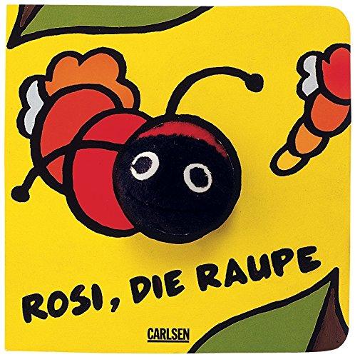 9783551165855: Fingerpuppen-Bücher: Rosi, die Raupe: Sonderausgabe mit Papprücken