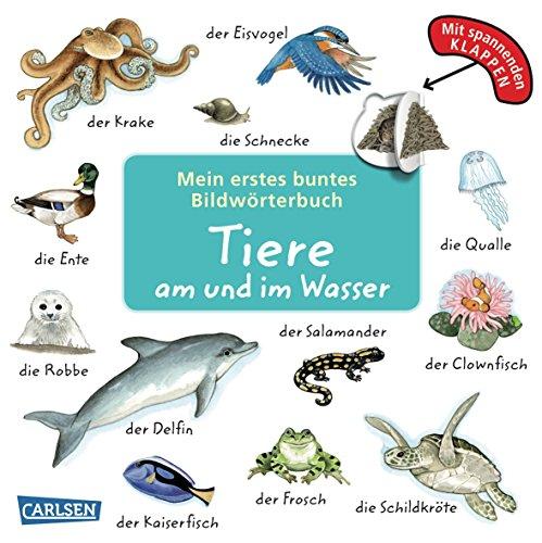 9783551167507: Mein erstes buntes Bildworterbuch: Tiere am und im Wasser (AT)