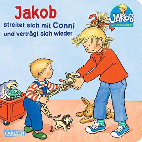 9783551167606: Jakob-Bücher: Jakob streitet sich mit Conni und verträgt sich wieder: mit lustigen Klappen