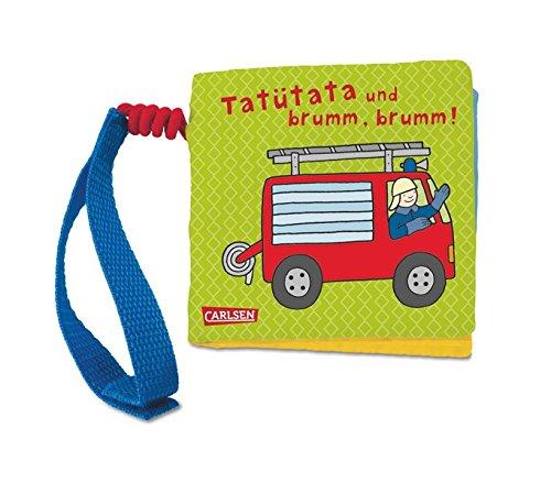 9783551168153: Mein erstes Stoff-Buggybuch: Tatütata und brumm, brumm!