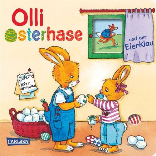 9783551170224: Olli Osterhase und der Eierklau: 18 Monate bis 3 Jahre