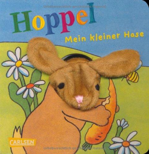 9783551170330: Fingerpuppen-Bücher: Hoppel, mein kleiner Hase