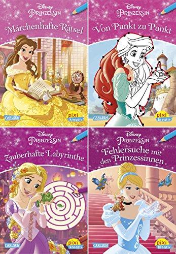 Disney Prinzessin : Märchenhafte Rätsel. Von Punkt
