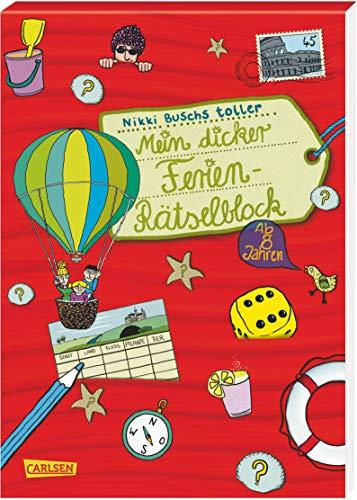 Mein dicker Ferien-Rätselblock: Band 3: Busch, Nikki