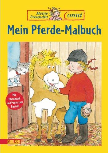 9783551184290: Mein Pferde-Malbuch / Meine Freundin Conni