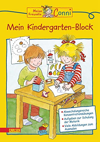 Meine Freundin Conni - Mein Kindergarten-Block: Hanna Sörensen