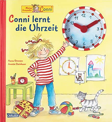 9783551185013: Meine Freundin Conni. Conni lernt die Uhrzeit