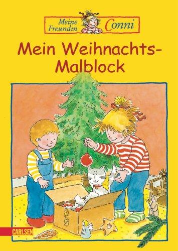 9783551185051: Meine Freundin Conni. Weihnachtsmalblock